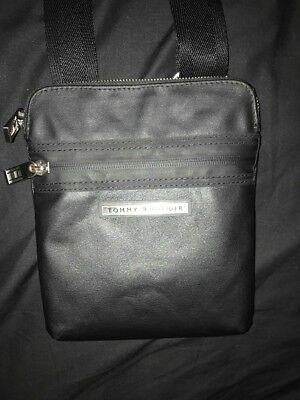 38fc5691e3ea TOMMY HILFIGER MEN S Tommy Tailored Mini Crossover Bag - Black ...