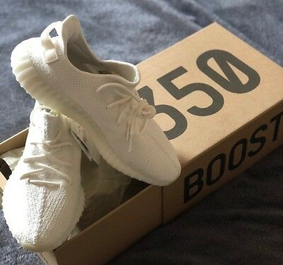 d741676131f1 ADIDAS YEEZY BOOST 350 V2 Cream UK 9 EU 43 Authentic All White - EUR ...