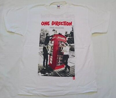 one direction take me home 2013 tour T-shirt-size 12/13 years old-New