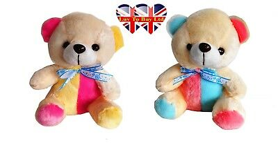 Children's Teddy Bear-Night Light (Blue & Pink) and (Yellow & Pink)