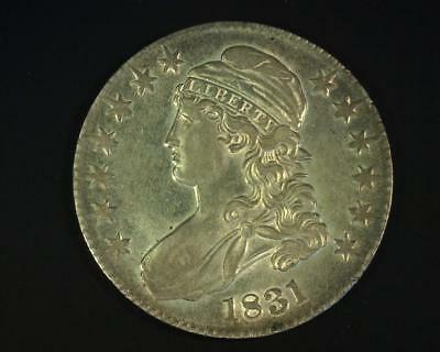 1831 Capped Bust Half-Dollar O#119 About Uncirculated ~398489