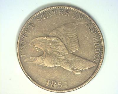 1857 Flying Eagle Cent  Extremely Fine   ~396431