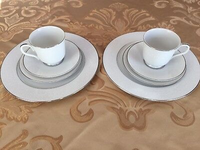 Vintage Lovelace Fine China, Crown Victoria Collection, Two -4 piece place setti