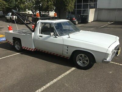 Holden Hq 1 Tonner Tow Truck V8 Auto Ex Winton Raceway Race Safe Recovery Ute