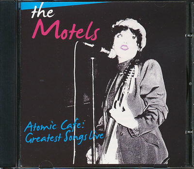 The Motels - Atomic Cafe: Greatest Hits Live CD **BRAND NEW/STILL SEALED**
