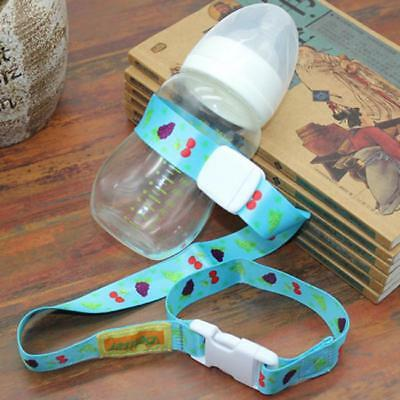 Anti-Drop Baby Bottle Sippy Cup Holder Strap For Stroller/High Chair/Car Seat SH