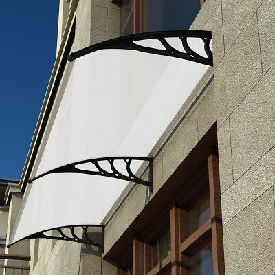 Door Window Canopy Roof Shelter Awning Shade Rain Cover Porch Front Back