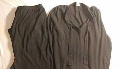 Take Nine Maternity Outfit Sweater Pants Top Set Gray Size X-Large