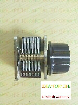 Single Unit Air Dielectric Variable Capacitor with Knob Hat 12PF to 365pf