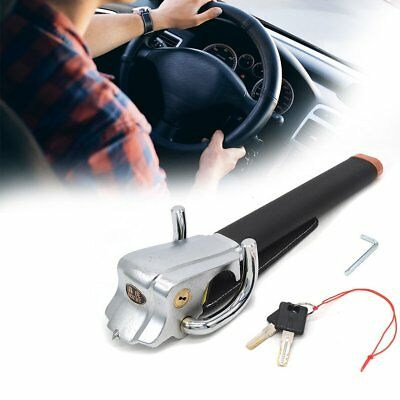 Foldable Vehicle Car Steering Wheel Security Lock Keys Anti Theft Devices HQ