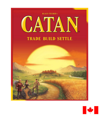 Catan - Settlers Of Catan: Trade, Build, Settle (Board Game)
