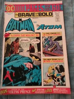 The Brave And The Bold Presents Batman And Atom #115