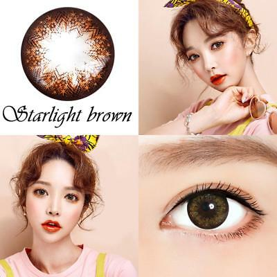 Makuep Coloured Contact Lenses Gray brown color contacts lens color halloween