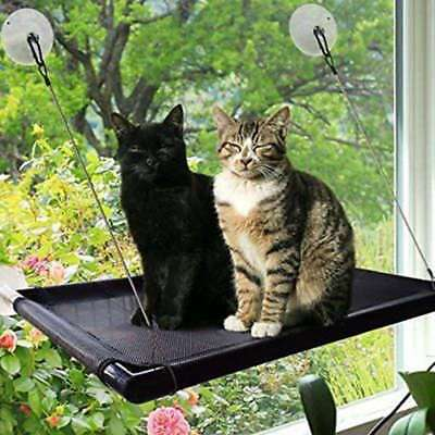 Window Mounted Cat Bed Pet Sunny Seat Hammock Perch Suction Cup Hanging Cushion