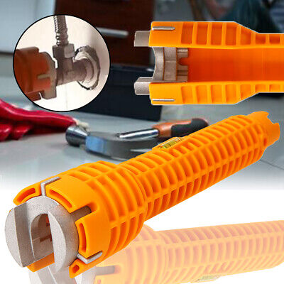Multifunctional Sink Faucet Wrench Faucet and Sink Water Pipe Spanner Set Tool