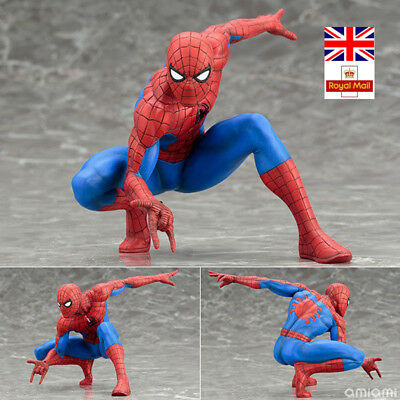 Action Figures ARTFX + STATUE The Amazing Spider-Man Spiderman Marvel Toys