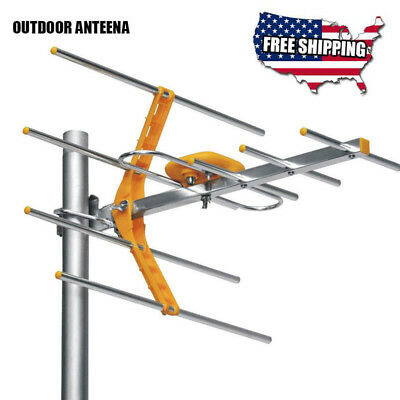 HD 1080P TV Antennas Outdoor 100 mile Digital TV Signal Amplifier Fast Shipping