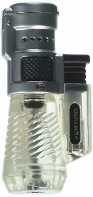 Vertigo by Lotus Cyclone Triple Torch Cigar Lighter Clear