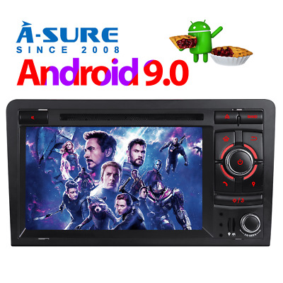 Android 8.1 Autoradio DVD GPS 4G/WLAN Bluetooth für AUDI A3 S3 RS3 8P 8V 8PA DAB
