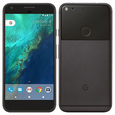 Google Pixel 32GB Unlocked 4G LTE Black Silver Blue 5.0 inch Android Smartphone