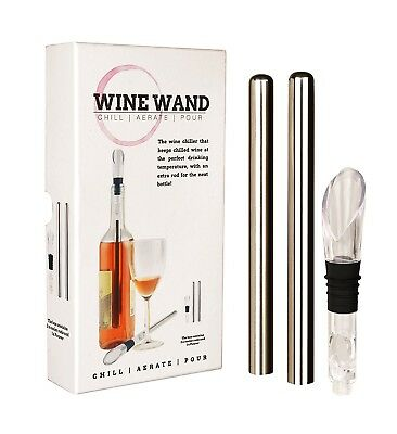 Wine Wand - the ultimate wine cooler, chiller, aerator accessory - 2 cooling /