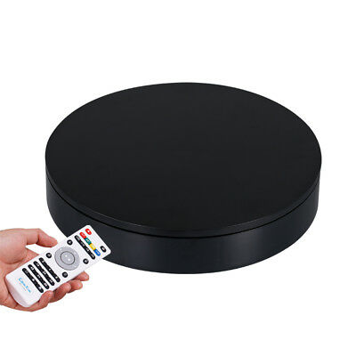 Electric Turntable Photography Display Stand Remote Control Speed&Direction 32cm