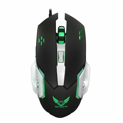 Quality Protable Lightweight Mini Optical Gaming Mouse Mice 6 keys For PC OR