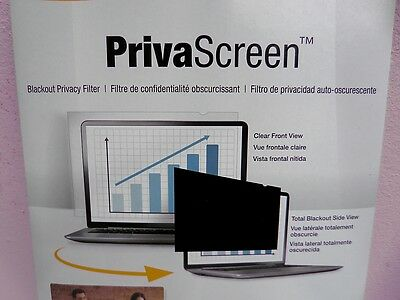 "FELLOWES PrivaScreen 15.0"" Widescreen Blackout Privacy Filter"