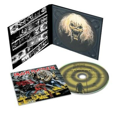 Iron Maiden - The Number Of The Beast 2018 Reissue (CD Digipak)