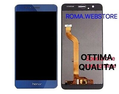 Lcd Display Vetro Touch Schermo Huawei HONOR 8 BLU FRD-L09 FRD-L19 BLUE