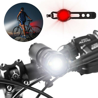 3Modes LED Bike Front Rear Tail Light Set Mountain Cycling Headlight & Taillight