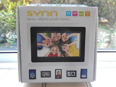 synn.7 inch. tft. digital photo frame.vDPF-701. photos camera memory card.