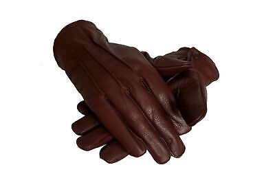 New Real Leather Men's Fashion Unlined Top Quality Gloves