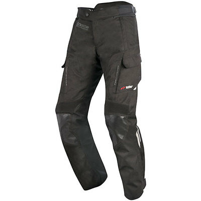 Alpinestars Andes V2 Drystar Textile Motorcycle Trousers - Black Large