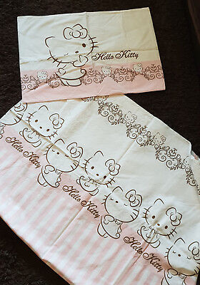 Sanrio Hello Kitty Bettwäsche 100x135 40x60 Eur 605