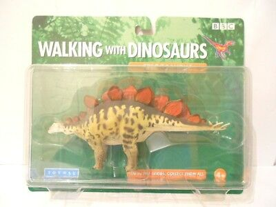 *Rare* Bbc Walking With Dinosaurs Stegosaurus Dinosaur Toy Model - Mint In Box