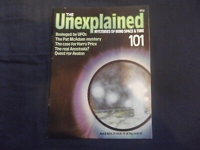 The Unexplained Magazine.# 101,aliens,ufo's,alistair Crowley Back Page,etc