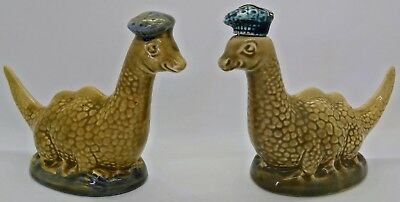 Pair of Vintage Rare Beswick Loch Ness Monsters Beneagles Scotch Whisky 1960's?