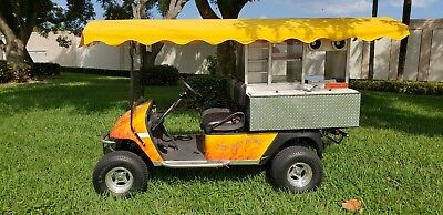 Hot Dog Golf Cart Gasoline Powered