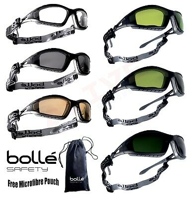 Bolle Safety Glasses Goggles Spectacles BOLLE TRACKER Welding version shade Lens