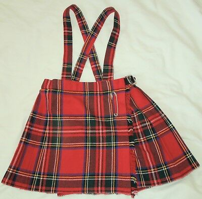 Vintage 50's St.Michael Girls Kilt Age 2~Made in United Kingdom~Mint Condition!