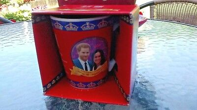 Royal Wedding V Shape Mug Prince Harry & Meghan Markle Souvenir Cup