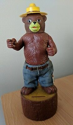 Vintage Dakin Smokey The Bear Bank