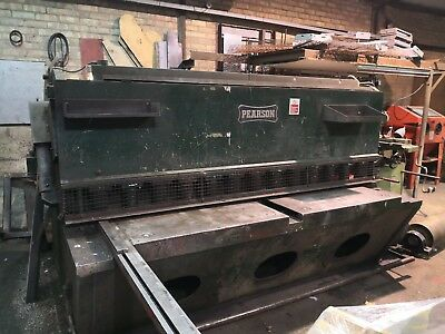 PEARSON HYDRAULIC GUILLOTINE  8ft * 38 2500 * 10mm