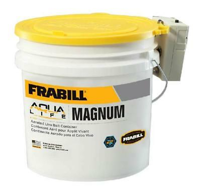 Frabill 4.25 Gallon Magnum Bucket with Aerator 14071