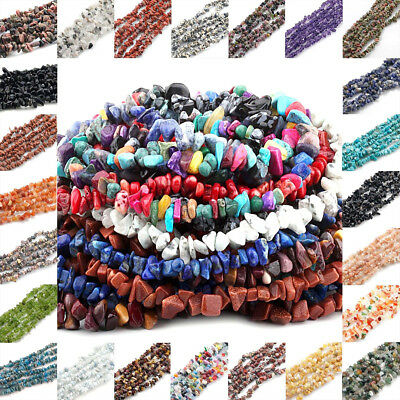 DIY Jewelry Wholesale Natural Freeform Loose Beads Strand Gemstones Making 33.5""