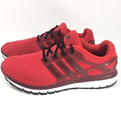 f4de635c3 Men s Adidas Energy Cloud WTC Shoes Sneakers Size 12 M Running Red Black