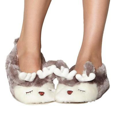 Character Novelty Animal Soft Warm Funny Big Slippers Ladies Kids Boys Womens UK