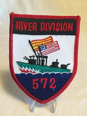 US Navy River Division 572 Command Military Patch