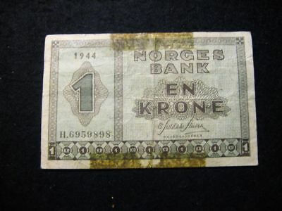 Norge 1 Krone 1944 Wwii
